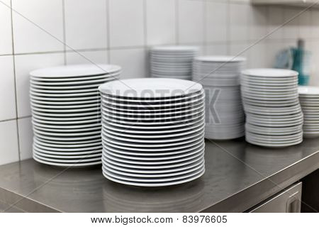 Plate In The Kitchen