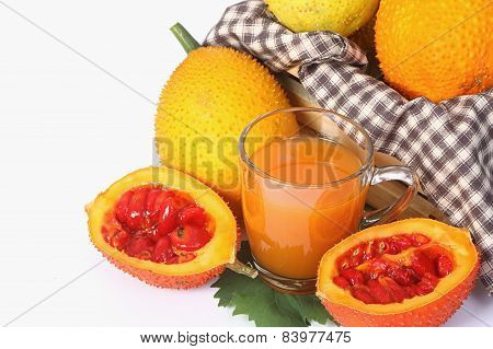 Gac Fruit, Baby Jackfruit With Juice