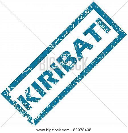 Kiribati rubber stamp