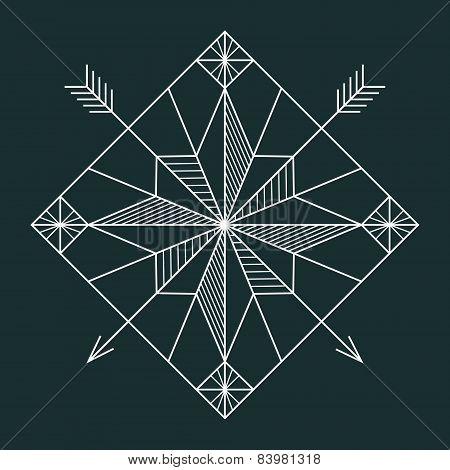 Line navigation star