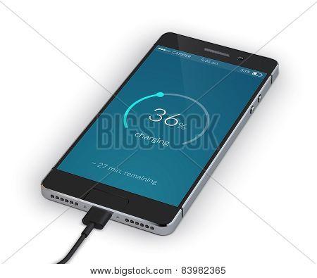 Smartphone Charging Isolated