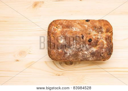 Loaf Of Homemade Unleavened Bread