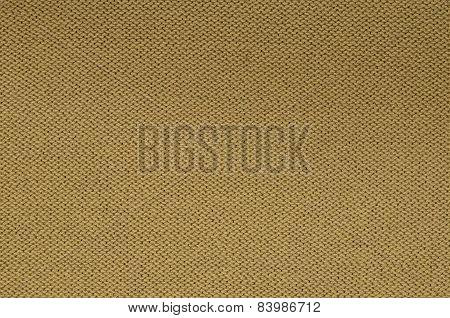 Ocker Knitted Background Pattern