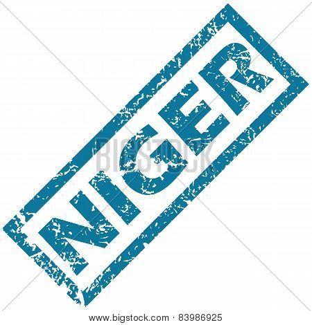 Niger rubber stamp