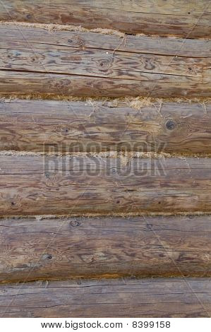 Logs In The Wall