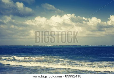 Dramatic Sea Landscape, Atlantic Ocean Coast