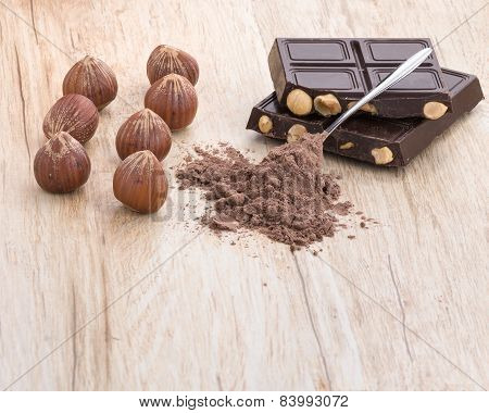Hazelnuts Chocolate