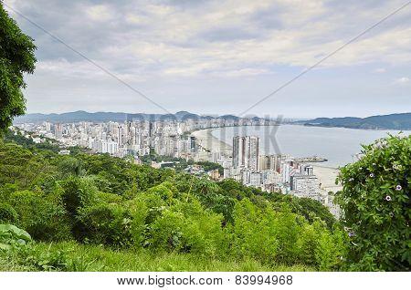 Santos City,  In Sao Paulo