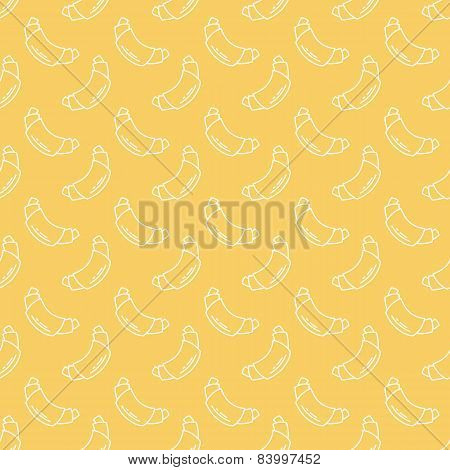 french croissants pattern