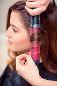 pic of beauty parlor  - Curled to perfection - JPG