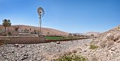 picture of wind wheel  - Fuerteventura  - JPG