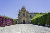 stock photo of carthusian  - Cartuja monastery facade Jerez de la Frontera C - JPG