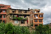 pic of poverty  - Poverty of the Asia in Bhaktapur city in Nepal - JPG