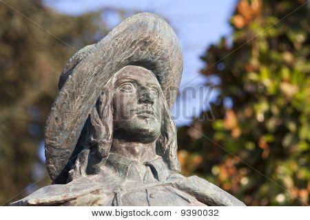 Statue of D'Artagnan in Auch