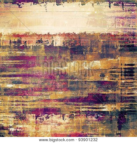 Grunge retro vintage texture, old background. With different color patterns: yellow (beige); brown; gray; purple (violet)