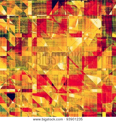 Old Texture. With different color patterns: yellow (beige); brown; green; red (orange)