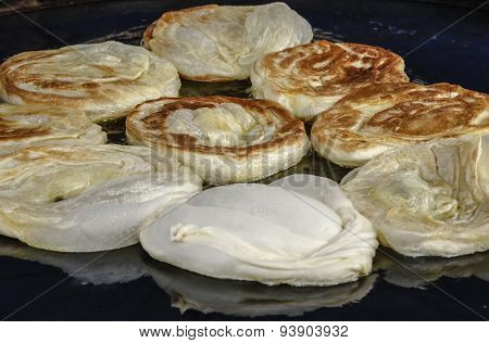 Flatbread Roti Bom