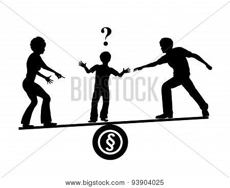 Child Custody Quarrel