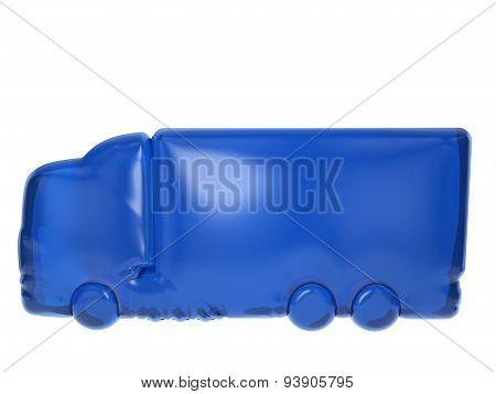 Balloon Truck Symbol