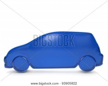 Balloon Car Symbol