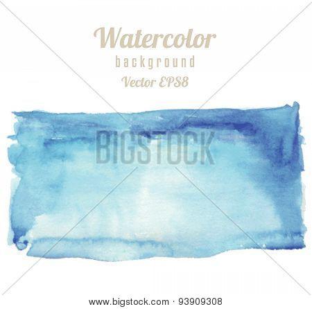 Rectangle Spot Watercolor Texture