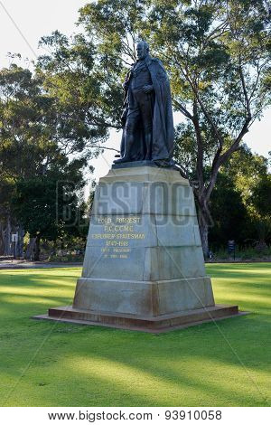 John Forrest Statue - Kings Park, Perth, Australia