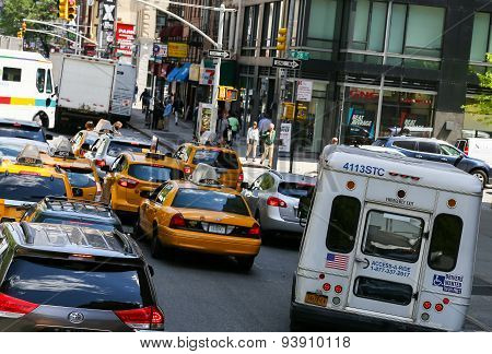 Traffic Jam in New York