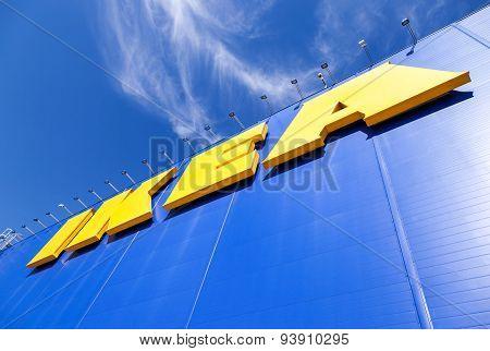 Ikea Logo. Ikea Is The World's Largest Furniture Retailer