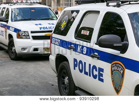 K-9 Unit Cars In New York