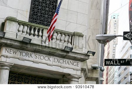 NYSE on Wall Street