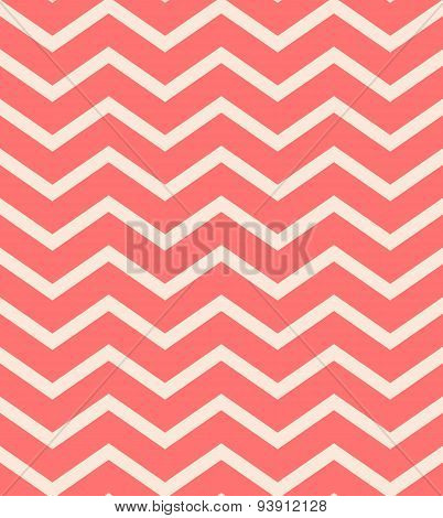 Red chevron seamless pattern background vector