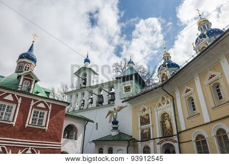 The Church Of The Intercession Of The Pskov-caves Monastery.
