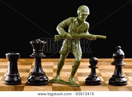 Chess And War.
