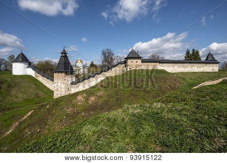 The Pskovo-pechersk Monastery.