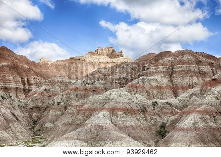 Hills In South Dakota Badlands