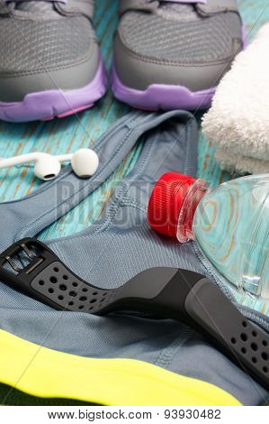 Sport Clothing With Heart Rate Monitor