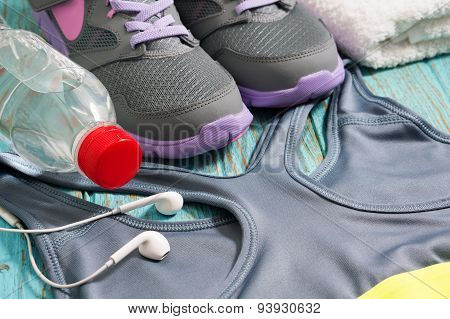 Sport Clothing And Shoes For Workout
