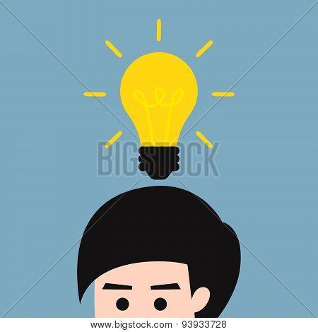 Man Get Idea