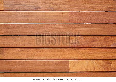 Ipe teak wood decking fence pattern tropical wood texture background
