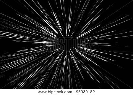 abstract speed motion lines of light background