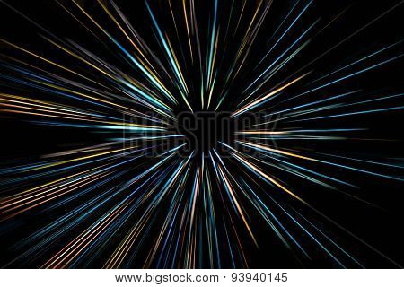 abstract speed light motion blur background