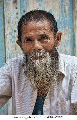 An 80 Year Old Man From The Ancient Town Daxu