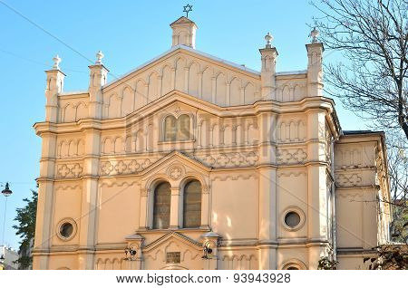 Tempel Synagogue in Krakow.