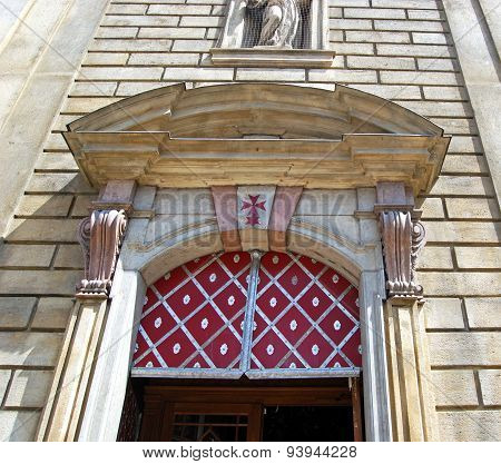 St Francis Seraphicus Church Doorway, Prague.