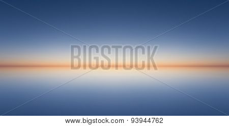 sunset horizon - abstract background