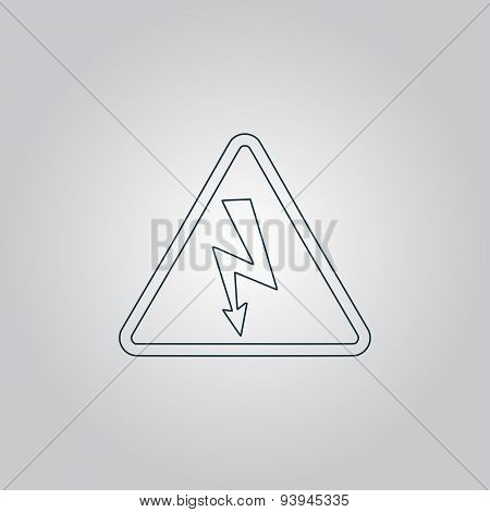 High voltage - Vector illustration