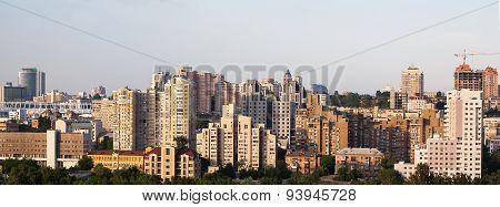 Kiev Central Business District. Ukraine.
