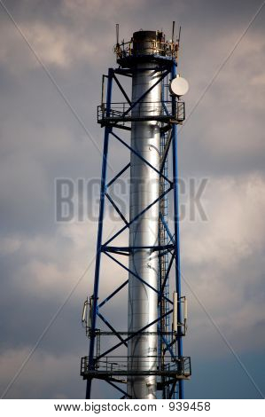 Chimney With Aerials