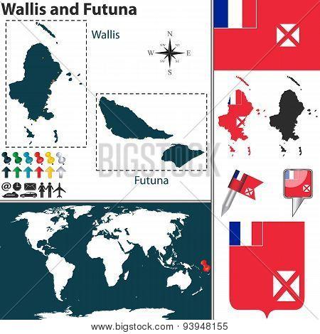 Map Of Wallis And Futuna
