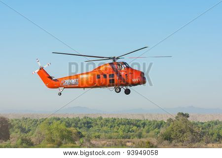 Summit Sikorsky S-58Dt N9Vy Helicopter